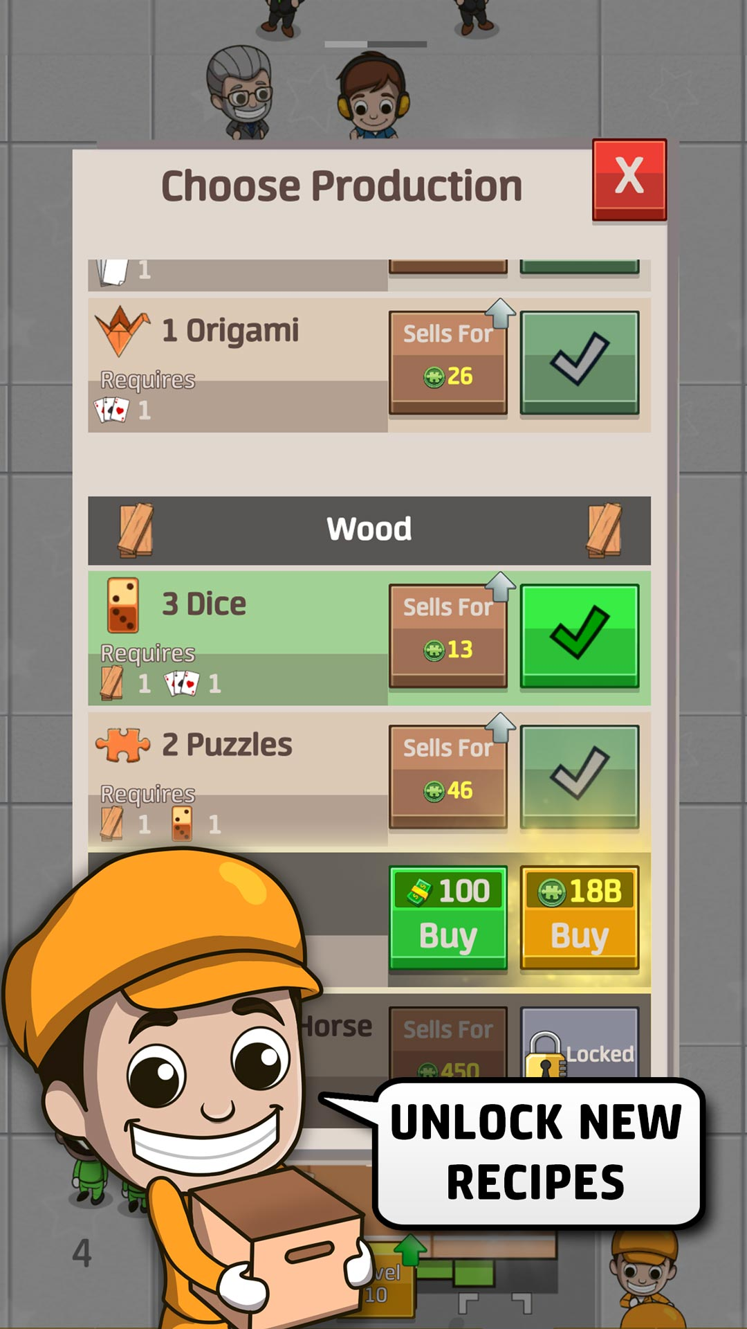 Idle Factory Tycoon - Become an Industrial Tycoon!